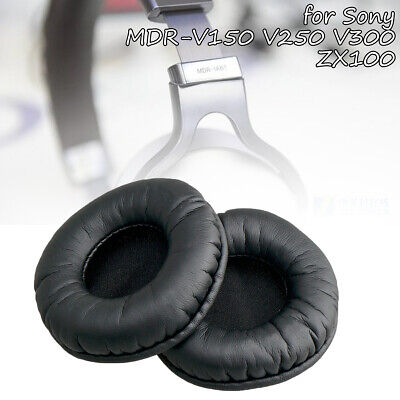 Ear Pads Cushions Replacement For Sony MDR-V150 V250 V300 ZX100 ZX300 Headphone • 4.69£