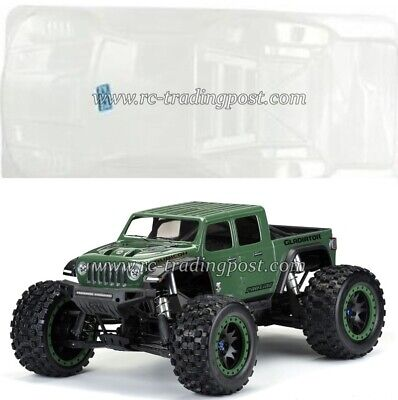 AU116 • Buy Pre-Cut Jeep Gladiator Rubicon Clear Body For Traxxas X-MAXX