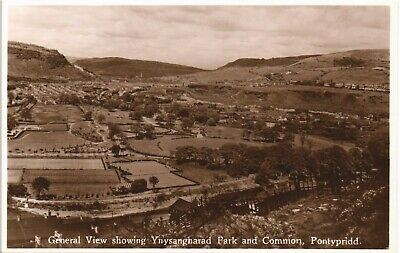 Pontypridd. General View Showing Ynysangharad Park & Common By Cole & Co.,P~. • 10£