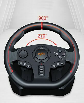PXN V900 Gamepad Controller Gaming Steering Wheel Racing PC/PS3/4/Xbox-One 360/N • 198.99$