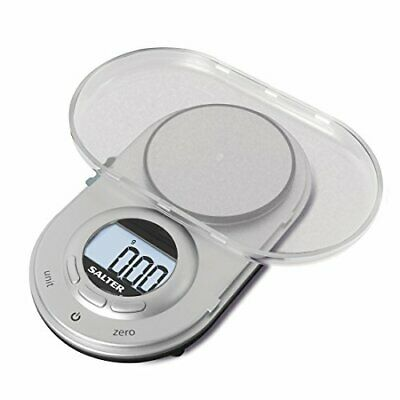 Salter Precision Micro Digital Kitchen Weighing Scales – Compact Discreet Des • 23.97£