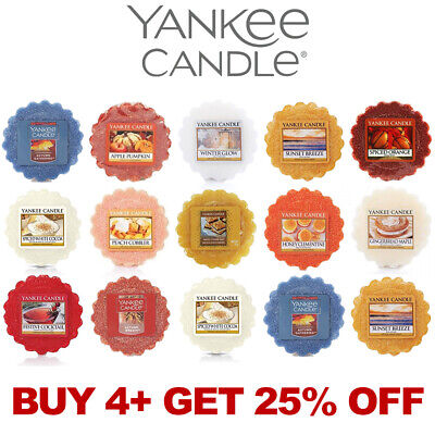 Yankee Candle Wax Tart Melts Scented - Free Delivery Multi-buy Discount Save 25% • 2.59£