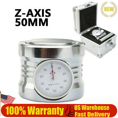 $54.82 • Buy New Solid Magnetic Z Axis Zero Pre Setter Dial Setting Tool For CNC Router 50mm