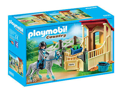 6935 Playmobil Horse Stable With Appaloosa Country Suitable For Ages 5 Years And • 19.22£