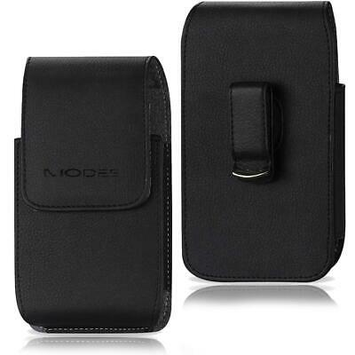 AU11.51 • Buy Phones Leather Vertical Case Pouch Belt Clip Loop Holster XL Fits Otterbox Cover