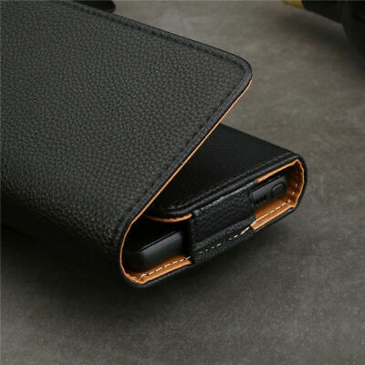 £4.49 • Buy Universal PU Leather Belt Pouch Wallet Clip Hip Loop Case Cover For All Phones