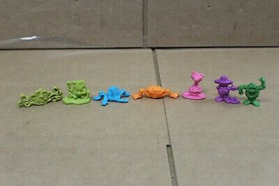 FREAKIES Cereal Collectible Toys 1970's -- Complete Set Of 7 • 99.95$