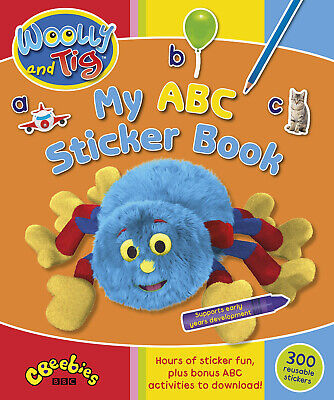 Woolly And Tig: My ABC Sticker Book Childrens Fun Activity Gift NEW • 3.79£