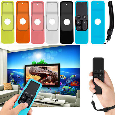 AU13.58 • Buy For Apple TV 4K / 4th Gen Siri Remote Controller Protective Silicone Case Cover