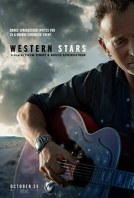 Western Stars: A Film By Bruce Springsteen And Thom Zimny (NEW DVD) • 17.84£