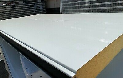 £96 • Buy Cold Room Smooth Insulated Panels,1000mm Width- 3000mm Length- 80mm Thickness