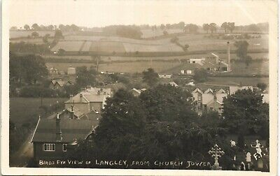 Langley Mill Near Heanor. Bird's Eye View From Church Tower By FY. • 17.50£
