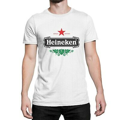 Heineken Inspired Design White T Shirt • 18.99£