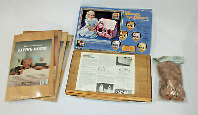 Sweetheart Doll House Kit Plus Lot Of Roof Shingle Living Dining Kitchen Bath • 49.99$