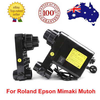 AU181.35 • Buy 220V Automatic Media Take Up Reel Motor For Roland/Epson/Mimaki Printer Machine