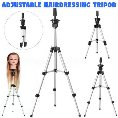 $17.99 • Buy Mannequin Head Tripod Hairdressing Training Head Holder Hair Wig Stand Tools