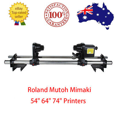 AU292.95 • Buy Auto Media Take Up Reel System For 54'' 64'' 74'' Roland Epson Mimaki Mutoh - AU