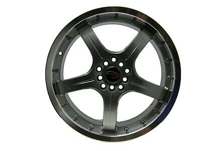 AU501.87 • Buy 18  Evoke F8 Style Alloy Wheels 5 Lug Pcd (100/114.3) Gunmetal  Set Of 4 Rim