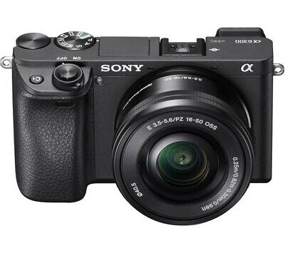 View Details Sony A6300 Mirrorless Camera With 16-50mm Lens • 609.99£