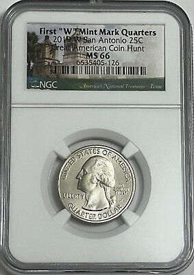 $ CDN36.22 • Buy 2019 W NGC MS66 TEXAS SAN ANTONIO MISSIONS QUARTER GREAT AMERICAN COIN HUNT 25c