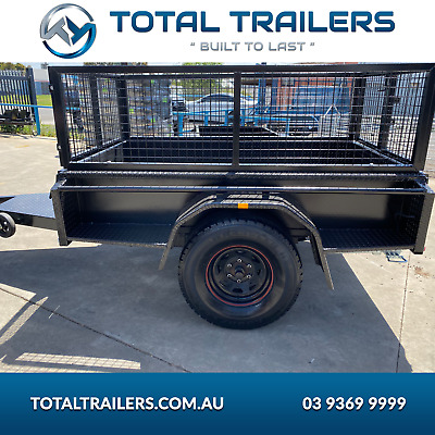 AU2790 • Buy 7x4 Offroad Trailer With Cage