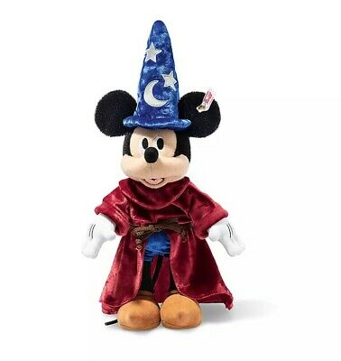 $355 • Buy Steiff Disney Sorcerer's Apprentice Mickey Mouse LIMITED EDITION