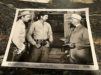 "Vintage 1957 8"" X 10"" Real Movie Photo Ben Casey Vince Edwards The Hired Gun • 37.04£"