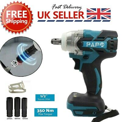Replacement For Makita DTW285Z 18V LXT Brushless 1/2in Impact Wrench Body Only Q • 44.99£