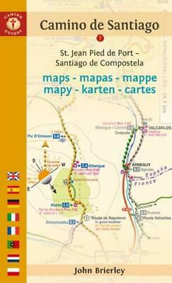 £10.70 • Buy Camino De Santiago Maps By John Brierley (author)
