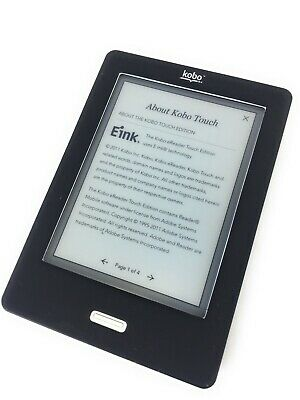 $49.77 • Buy Kobo Ebook Reader Kobo Touch Edition 6-Inch E Ink Screen White 1400MB