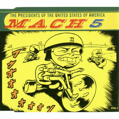 PRESIDENTS OF THE UNITED STATES OF AMERICA Mach 5 CD 4 Track  • 2.95£