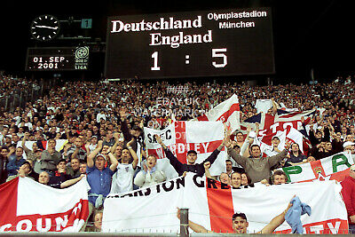 £5.99 • Buy England 5 Germany 1 Photo Choose Print Size Gift For Him 2001