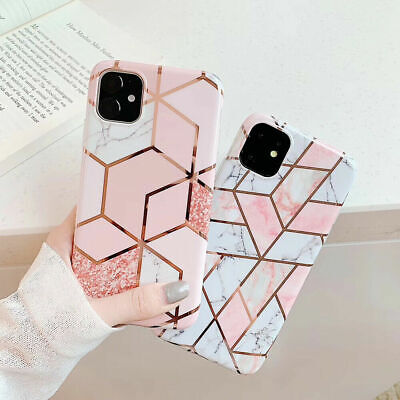 AU7.99 • Buy For IPhone 11 Pro Max XR XS MAX X 7 8 PLUS Case Marble Shockproof Silicone Cover