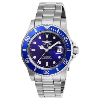 $ CDN65.82 • Buy Invicta Men's Watch Pro Diver Quartz Blue Dial Silver Tone Bracelet 26971