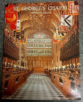 St George's Chapel Windsor Pitkin Pictorial 1973 • 4.50£