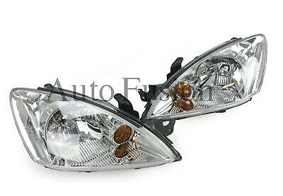 $245.36 • Buy Headlights Pair In Chrome For Mitsubishi Lancer CH (2003-2007)