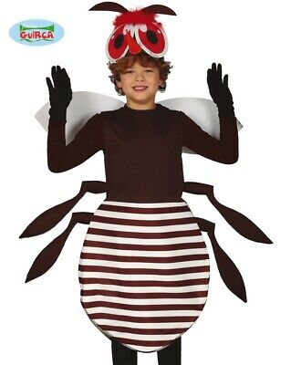 Childs Mosquito Fancy Dress Costume Childrens Insect Fly Creature Outfit Fg • 15.99£