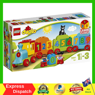 AU22.99 • Buy LEGO DUPLO Number Train 10847 Playset Toy Kids GIFTS NEW FAST FREE SHIPPING AU