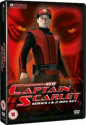Gerry Anderson's NEW Captain Scarlet - Complete Series 1 & 2 ---- DVD Boxset • 29.95£