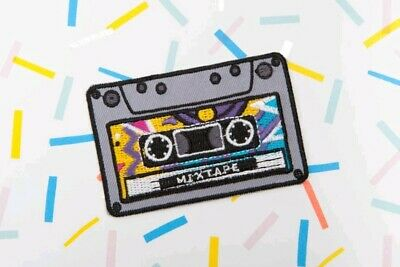 AU6.49 • Buy Mixtape Iron On Patch Sew 70s 80s Music Philips Cassette Guardians Of The Galaxy
