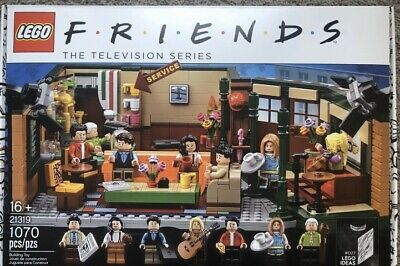 LEGO - Central Perk (21319), New, Sealed Friends TV Show, Free Priority Shipping • 100$