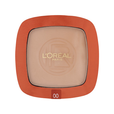 Loreal Paris Glam Bronze Powder Compact With Mirror & Brush (00 Blond Sun) • 6.99£