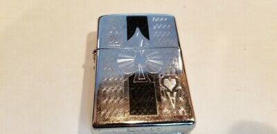 $17.99 • Buy  Zippo Lighter 2009 ACE OF SPADES Carved With New Flint