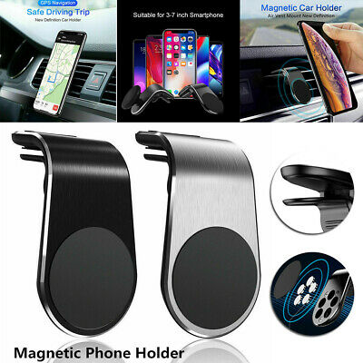 $2.69 • Buy Phone Holder Clip Car Air Vent Magnetic Bracket For Mobile Phone GPS Accessories