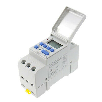 1X Digital Timer Switch 24V Manual Electric Programmable Power Point 7 Days • 7.86£