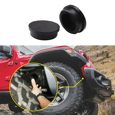 $9.99 • Buy Front Girder Tube Frame Hole Cover Rubber Plugs For 2018-2020 Jeep Wrangler JL