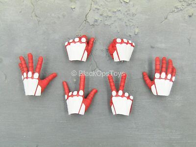 $ CDN31.07 • Buy 1/6 Scale Toy Spiderman - Advanced Suit - Red & White Gloved Hand Set (Type 1)