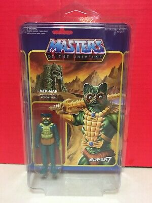 $39.99 • Buy Masters Of The Universe Mer-Man ReAction Figure Super7 Mattel 2015