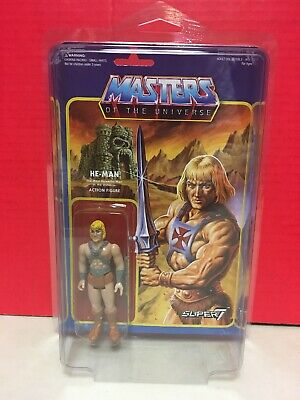 $29.99 • Buy Masters Of The Universe He-Man ReAction Figure Super7 Mattel 2015