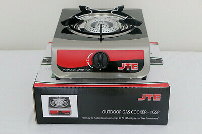AU69.95 • Buy Single Burner Gas Stove Outdoor Camping Stove LPG Gas - AGA Approved